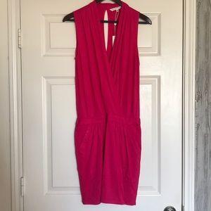 Trina Turk Pink Jersey Dress XS